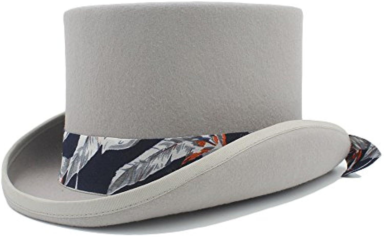 WCS Cappello a Cilindro Steampunk Fai da Te Cappello con Cappello Te  Modello Mad Hatter in Tessuto Blu per Donna (Coloreee ... Parent 48da3e ea822b60e562
