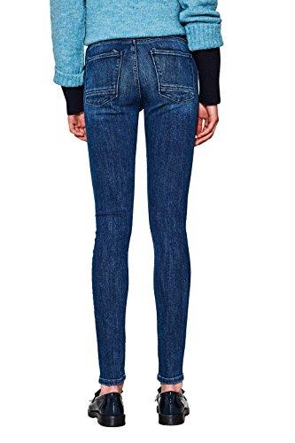 ESPRIT Damen Skinny Jeans Blau (Blue Dark Wash 901)