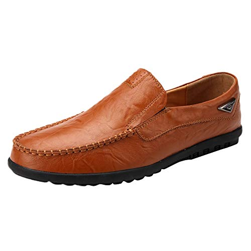 Celucke Driver Mokassins Herren, Klassische Driving Schuhe Weichs Comfort Loafers Flache Fahren Halbschuhe Slippers
