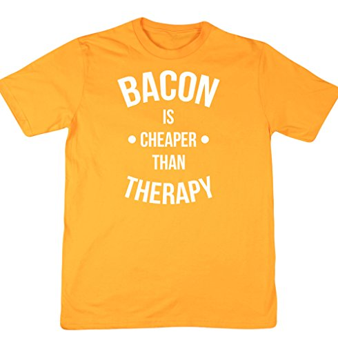 hippowarehouse-bacon-is-cheaper-than-therapy-unisex-short-sleeve-t-shirt