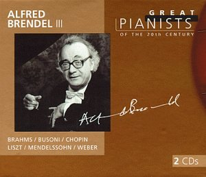 Great pianists of the 20th century, Alfred Brendel (III)