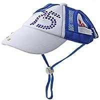 cotone taglia XL cristallo Visiera cappello berretto per cane animaletto