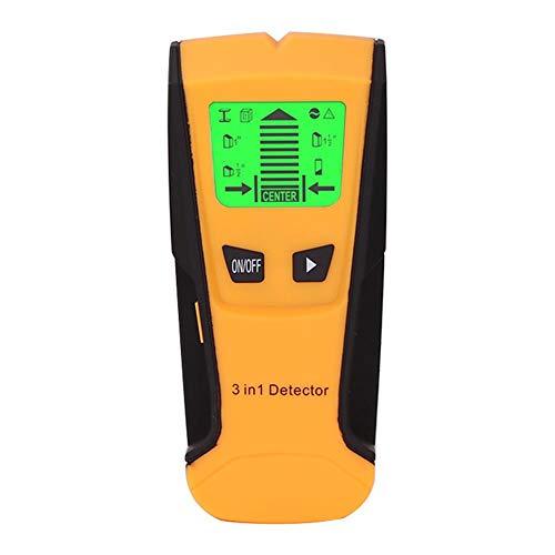 Benignpoet Detector De Pared - LCD Multifuncional Localizador Digital Madera Studs Centro Buscador De...
