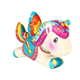 Prevently Slow Rising toy, New Creative Squeeze Cute Unicorn Scented Squishy Slow Rising Squeeze Strap Kids Toy Gift (Colour C)
