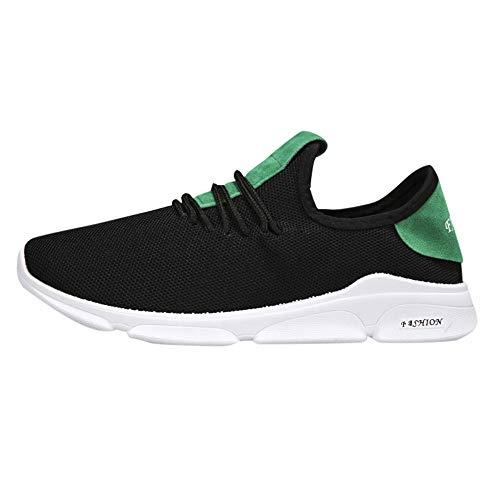 EU39-EU46 ODRD Schuhe Männer Jungen Casual Sneakers Sport Laufen Atmungsaktive Flache Feste Schnürschuhe Herren Hallenschuhe Worker Boots Laufschuhe Sportschuhe Wanderschuhe Sport