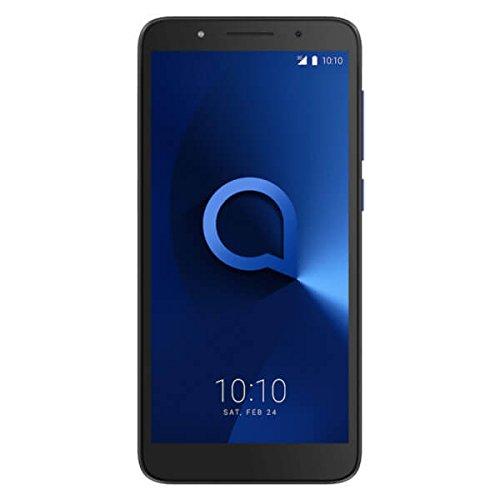 Alcatel 5009D-2BALEW1 13,46 cm (5,3 Zoll) 1c, Smartphone, 16GB Metallic Blau