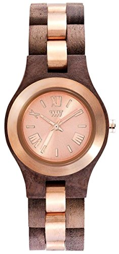 WEWOOD Criss ME Nut Rough Rose - Orologio donna