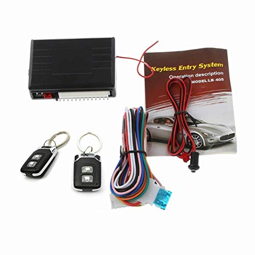 mysticall Remote Central Car Lock, 2-Tasten-Fahrzeug-Keyless Entry System Controller