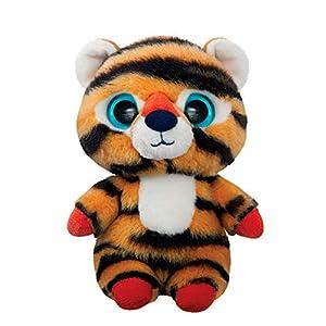 Aurora World 61281 Han The Siberian Tiger - Peluche de Tigre, Color Naranja y Negro