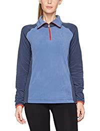 Columbia Glacial Flce Forro, Mujer, Multicolor (Bluebell / Nocturnal), M
