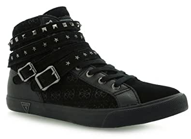 Guess Femme Sneakers , FL4DILSUE12, Noir, 40