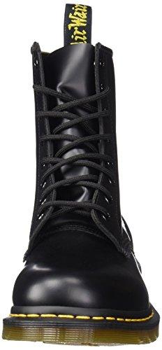 Dr Martens 1460 Pattent, Boots femme Noir (Schwarz (Noir))