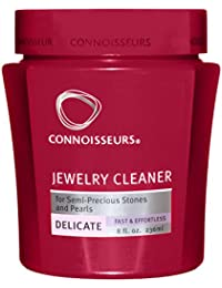 CONNISSEUR Connoisseurs Productos 1047 Revitalizante Delicado Limpiador de la joyer-a 8 oz - Caja