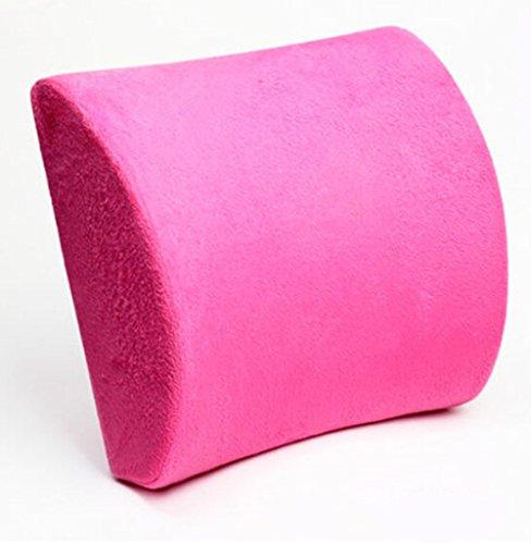 Haute Memory Foam Seat coussin lombaire Oreiller Retour Aide Pad pour la berline de voitures Home Office