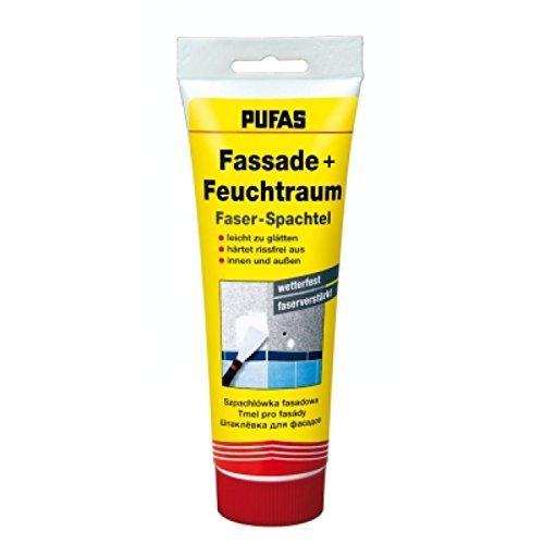 Pufas Fassade und Feuchtraum Faser-Spachtel 400g (Faser-bad)