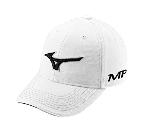 Mizuno pour Homme Tour Casquette Taille Unique Blanc/Noir