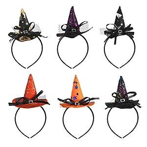 Diadema de Bruja Halloween KATOOM