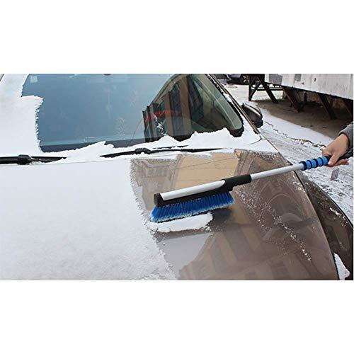 RUIX Eiskratzer und Schneebürste, Winterauto-Eisschaufel-Schneebürste, Die Schneeschaufel-Schneebürste/Autoschneeräumungszubehör Auftaut,Blue