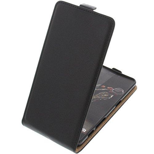 foto-kontor Tasche für Hisense Rock C30 Smartphone Flipstyle Schutz Hülle schwarz