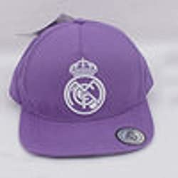 GORRA PLANA LILA REAL MADRID