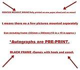 SGH SERVICES Affiche encadrée « Clint Eastwood » signée The Good The Bad Film - Affiche encadrée - Photo encadrée pré-imprimée - Affiche encadrée