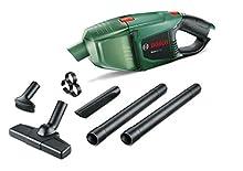Bosch Home and Garden 06033D0000 Aspiratore Portatile EasyVac 12 Corpo Macchina, 0 W, 12 V, Verde