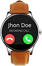 Watchout Wearables Desert Storm Smart Watch with Heart Rate Monitor (Tan Brown)