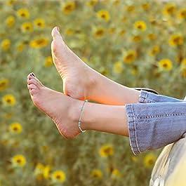 15 Pezzi Boho Cavigliere Catene Bracciali Regolabile da Spiaggia Cavigliera Piede Gioielli Set per le Donne Ragazze