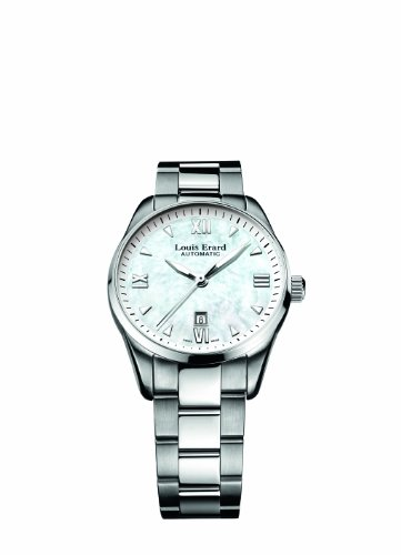 Louis Erard Women's 20100AA04.BMA17 Heritage Automatic Date Watch