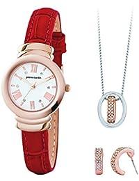Pierre Cardin pcx6571l292Damen Uhr, Halskette & Ohrringe Set