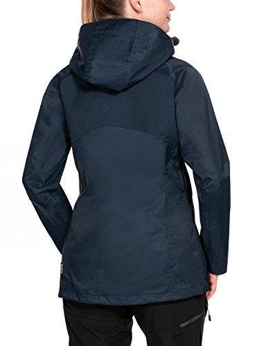 Midnight Blue Jack Wolfskin Damen Colorado Flex Wetterschutzjacke XL