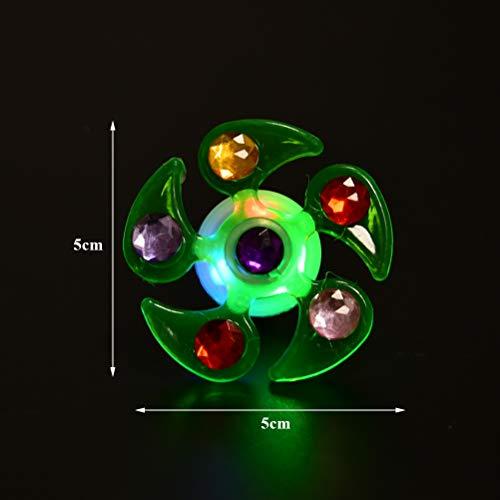 Imagen de ofnmy kits de 20pcs favores de fiesta para niños anillos pulseras luminosas con 3 luces ajustables ideal para artículo de cumpleaños, premio para estudiantes,suministro de halloween navidad alternativa
