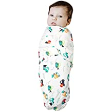 Kassy Pop Curated Just for You Square Cotton Wrap Adjustable Infant Swaddle (23X23-Inch)