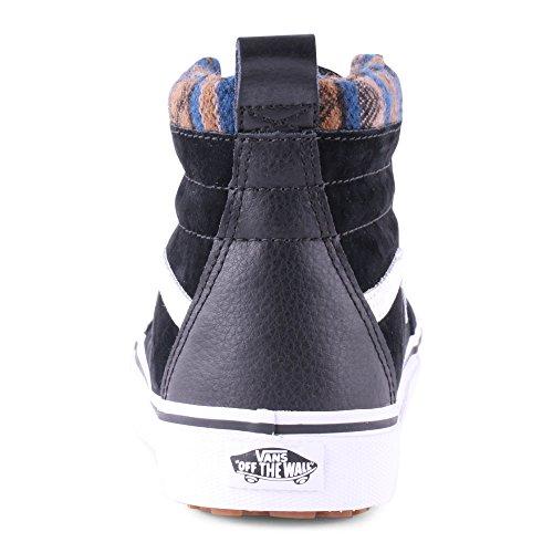 Vans U Sk8-Hi, Sneakers Unisex Adulto Nero