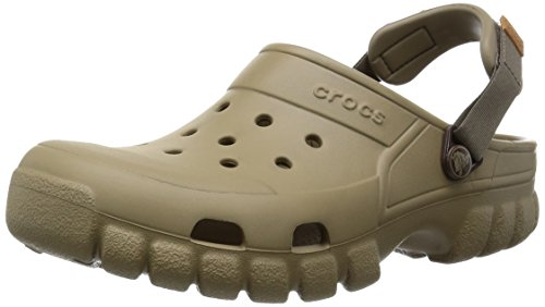 crocs Unisex-Erwachsene Offroadsportclg Clogs, Braun (Khaki/Walnut), 45-46 EU