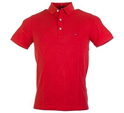 Tommy Hilfiger Herren Poloshirt Luxury Pique Polo S/S Sf