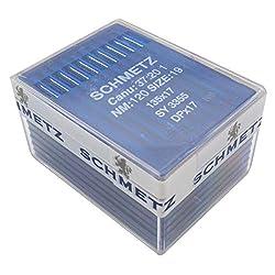 ckpsms SCHMETZ-Nadel - 100 Schmetz 135 x 17 dpx17 sy3355 Industrie Nähmaschinennadeln DPX17 (Schmetz DPX17 22/140)