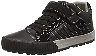 Geox  JR MYTHOS B, Sneakers basses garçon - Noir - Schwarz (C9999BLACK), 41 EU