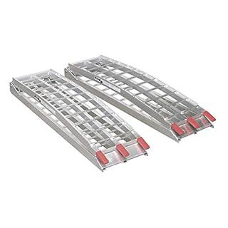 Sealey LR680 Aluminium Loading Ramps, 680 Kg Capacity, Set of 2