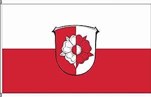 Kleinfahne Weimar (Lahn) - 20 x 30cm - Flagge und Fahne