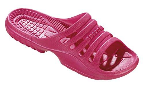 Beco Damen Badepantoletten-90652 Pantoletten, Pink (Pink 4), 40 EU