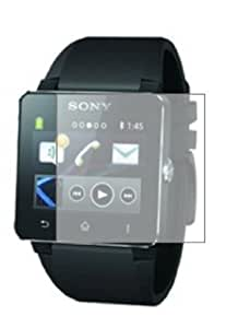 3 x Membrane Screen Protectors for Sony Smartwatch 2 II - Crystal Clear (Glossy), Retail Package, Installation Kit