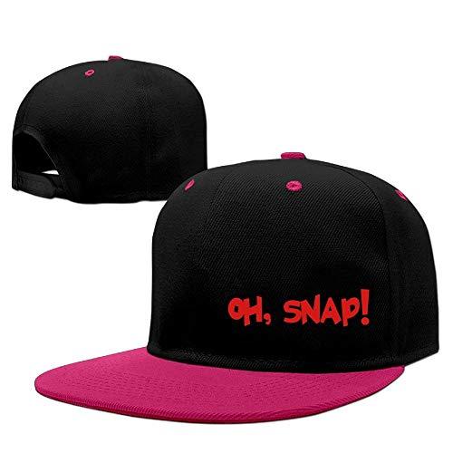 Oh, Snap! Unisex Adjustable Snapback Hip Hop Hat Dad Cap Finesse-snap