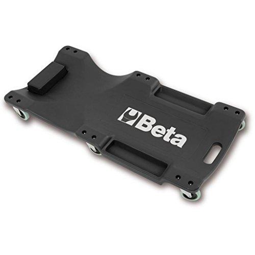 Beta Tools 3003Creeper En Plastique Résistant aux chocs-Noir/Orange