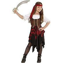 Widmann 05597 - Costume da Piratessa, in Taglia 8/10 Anni