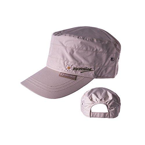 Sportsline Military Swiss Concept Cap mit UV-Schutz Unisex (Beige)