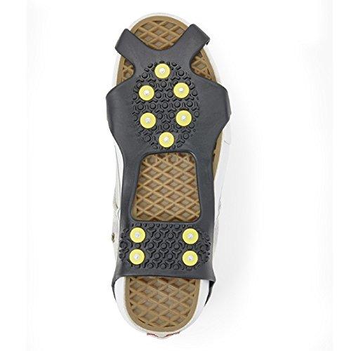 Eurosell Größe 36-41 Premium Schuh Spikes - Schuhspikes - Winter / wandern / Senioren / Schuhspikes Schuhkralle Schuhkrallen Eisspikes Shoespikes Anti Rutsch Sohle Eis Schneekette für den Stiefel
