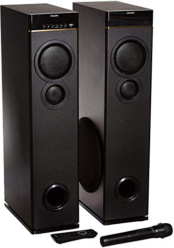 Philips SPA9080B Multimedia Tower Speakers (Black)