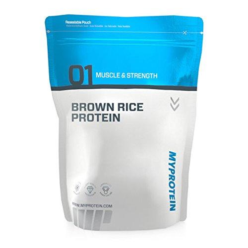 #Myprotein – Brown Rice Protein, Unflavoured, Pouch, braunem Reis, 2.5 kg#