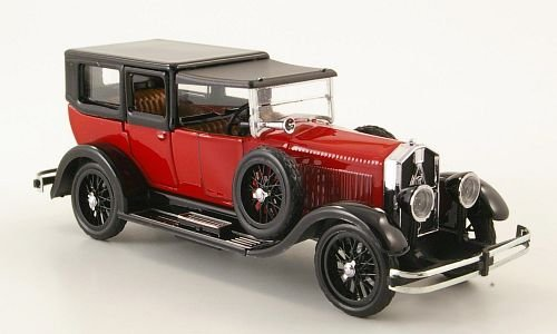 isotta-fraschini-8a-limousine-rot-schwarz-geschlossen-1924-modellauto-fertigmodell-rio-143